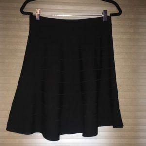 Max Studio Sweater Skirt - Black
